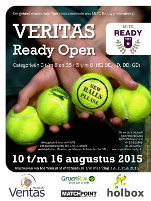 Poster Veritas Ready Open